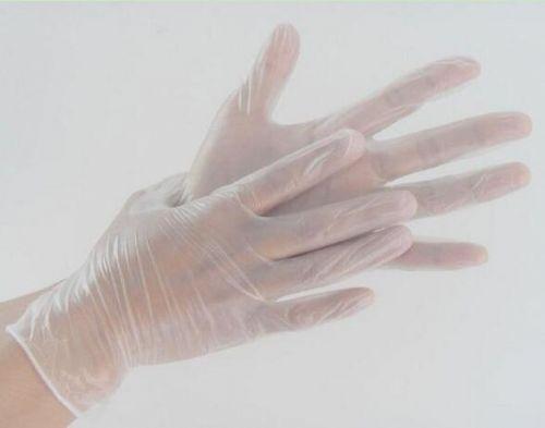 PVC无尘手套 pvc透明防护手套 无尘室净化室劳保专用产品