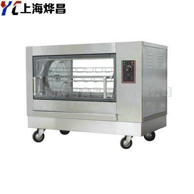 旋转式电烤炉 烤鸡鸭炉