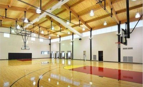 济南运动塑胶地板地胶枫木纹室内专用篮球场篮球馆地胶