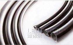 供应厂家雷诺尔LNE-JSP金属平包管 金属穿线管 PVC平包塑