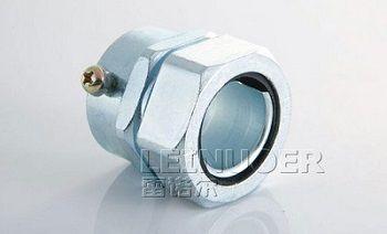 供应采购浙江雷诺尔卡套式接头接镀锌钢管与金属软管