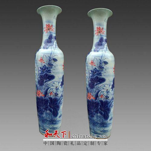 花瓶景德镇陶瓷器 插花器家居饰品摆件 客厅餐厅装饰工艺品