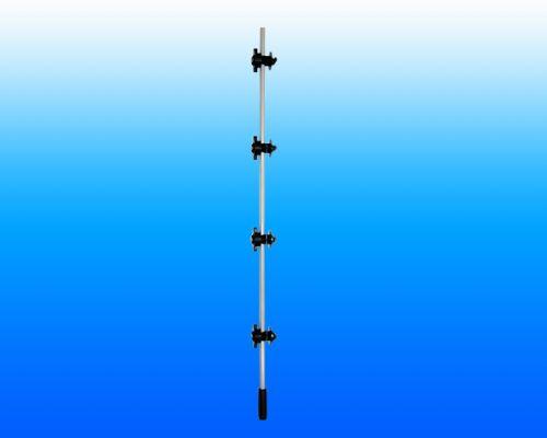 天津州杰脉冲电子围栏前端组成-PV过线杆