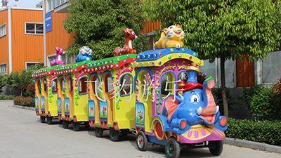 大象火车 观光小火车 广场儿童火车