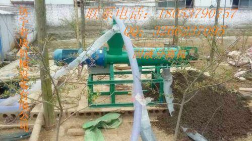 制造RC200 新型鸡粪处理设备报价  四川巴中鸡粪脱水机厂家