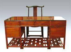 实木书桌 红木书房家具   王义红木家具厂