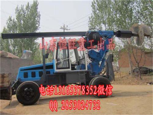 打桩机 桩工机械电动液压打桩机价格 参数直接厂家