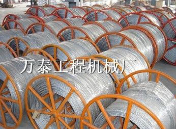专业生产无扭钢丝绳编织机霸州万泰工程机械厂