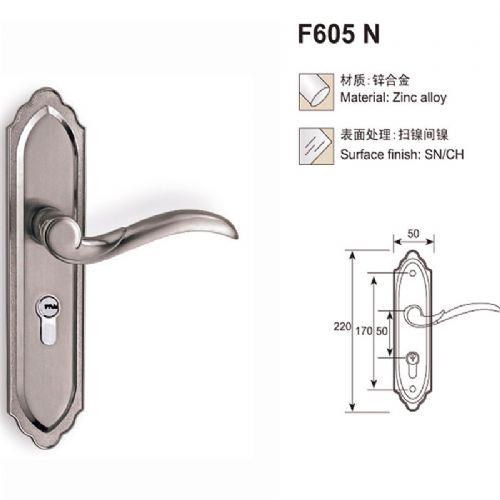 专业生产锌合金门锁 房门锁