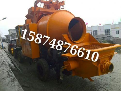 搅拌机地泵拖泵车载泵泵车