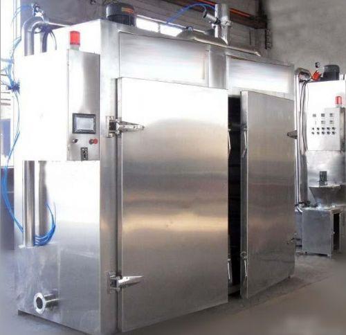 PLC鱼豆腐蒸箱,台烤肠蒸煮机