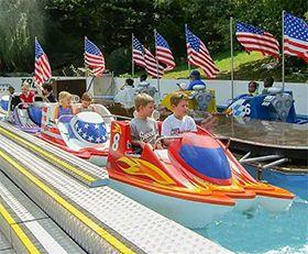 儿童摩托赛艇 公园游乐设施 户外大型游乐设备
