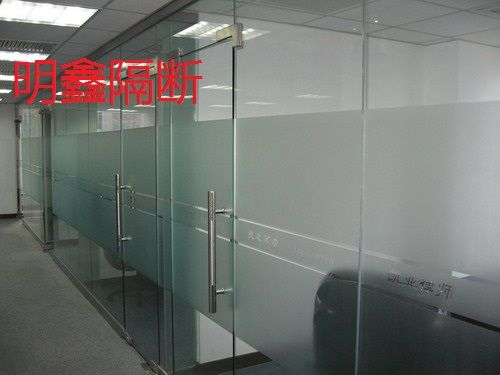 石家庄安装钢化玻璃隔断
