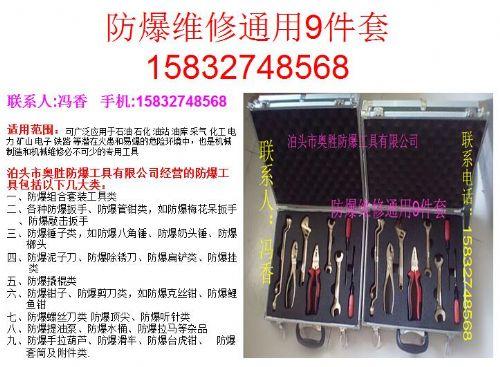厂家直销供应西藏EX-ASZHWXTY9防爆维修通用9件组合工具