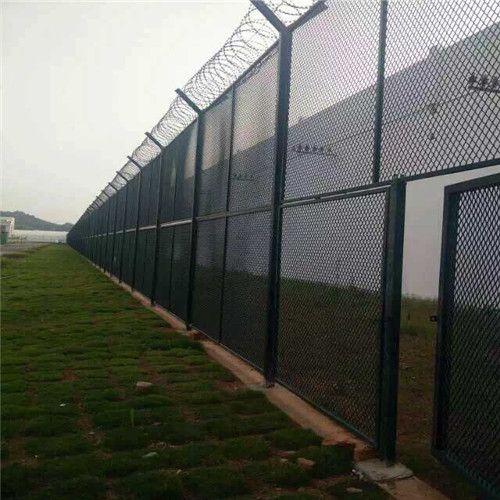 直销 机场刀片滚笼护栏 刀片滚笼防爬隔离网护栏网