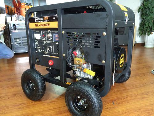 工地工程便携式250a柴油发电电焊机