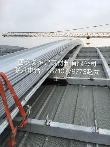 新疆克拉玛依铝镁锰直立锁边金属屋面板型号32-130-780