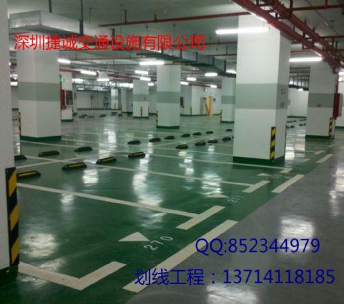 惠州停车场划线_停车场规划_停车位设计