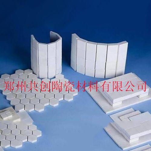 供应耐磨陶瓷片 燕尾型 焊接型 粘贴型